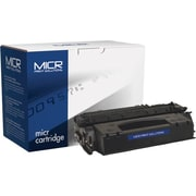 MICR Black Toner Cartridge Compatible with HP 53X (Q7553X), High Yield