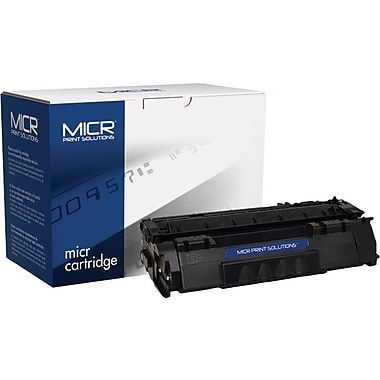 MICR Black Toner Cartridge Compatible with HP 53A (Q7553A)