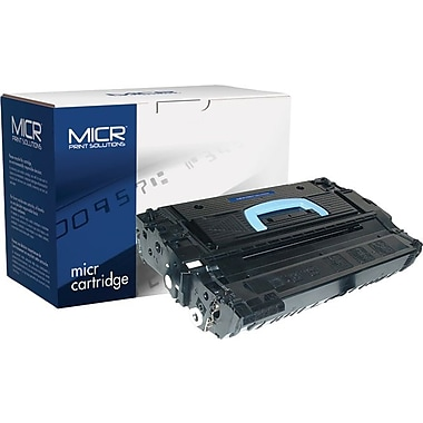 MICR Black Toner Cartridge Compatible with HP 43X (C8543X), High Yield