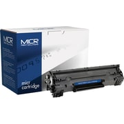 MICR Black Toner Cartridge Compatible with HP 36A (CB436A)