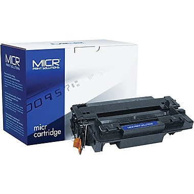 MICR Black Toner Cartridge Compatible with HP 55X (CE255X), High Yield