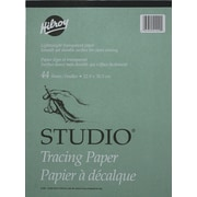 """Hilroy Studio Parchment Tracing Paper Pad, 9"""" x 12"""", 44 Sheets"""