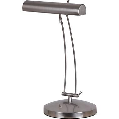 catalina lighting full spectrum desk lamp 13w brushed steel. Black Bedroom Furniture Sets. Home Design Ideas