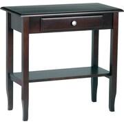 Office Star - Table avec tiroir et tablette, Merlot