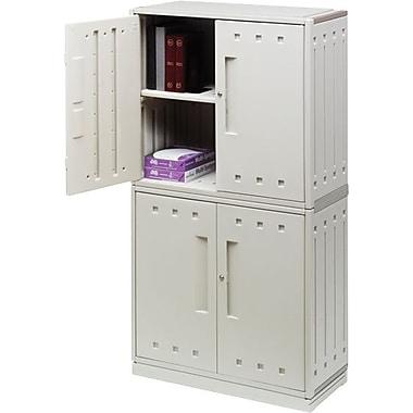 Iceberg SnapEase Storage Cabinets, Platinum, 70in.