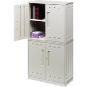Iceberg SnapEase Storage Cabinets, Platinum, 70
