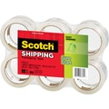 Scotch® High-Performance Sure-Start Packaging Tape, Clear, 1.88in. x 54.6 yds, 6 Rolls
