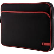 HP 16 Laptop Sleeve (Black/Red)