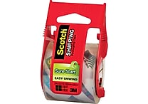 Scotch® High-Performance Sure-Start Packaging Tape, Clear, 1.88' x 22.2 yds, 6/Pack