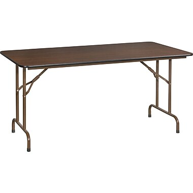 Staples 5' Melamine Folding Banquet Table