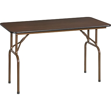 Global 4' Folding Melamine Banquet Table