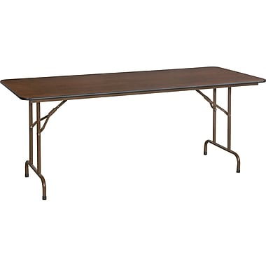 Staples 6' Melamine Folding Banquet Table