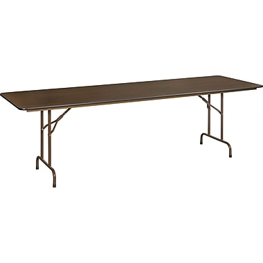 Staples 8' Melamine Folding Banquet Table