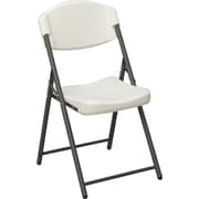 Iceberg Rough N Ready Folding Chair 4/Pack, Platinum
