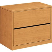 HON 10500 Series 2-Drawer Lateral File Cabinet, Harvest