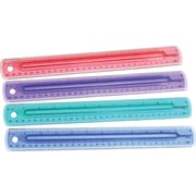 "Westcott® 12"" Finger Grip Ruler, Assorted Colors"