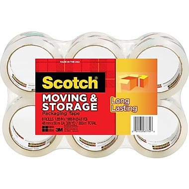 Scotch Moving and Storage Tape, 1.88
