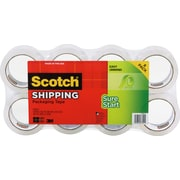 "Scotch High-Performance Sure-Start Packing Tape, 1.88"" x 54.6 yds, Clear, 8/Pack"