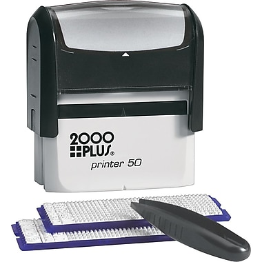 2000PLUS® One-Color Do-It-Yourself Stamp Kit, 8 Lines