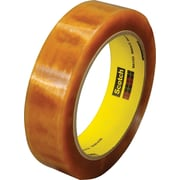 Scotch® Premium Cellophane Tape 610 Refill, Clear, 1 in x 72 yd, 1/Roll
