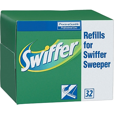 Swiffer Sweeper Professional Dry Refills, 32/Pack