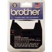 Brother 1230 Correctable Film Ribbon, Black, 2/pk