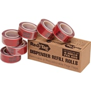 Redi-Tag® Red Sign Here Flag Refill Rolls,  6 Rolls