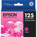 Epson 125 Magenta Ink Cartridge (T125320), Standard Yield