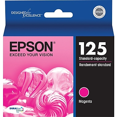 Epson 125 Magenta Ink Cartridge (T125320)
