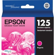 Epson® – Cartouche d'encre magenta, 125 (T125320)