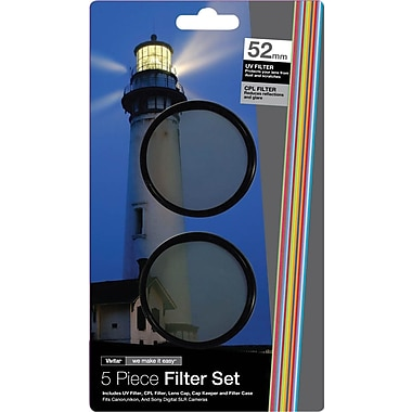Vivitar FK2 52 52mm 5-piece Filter set