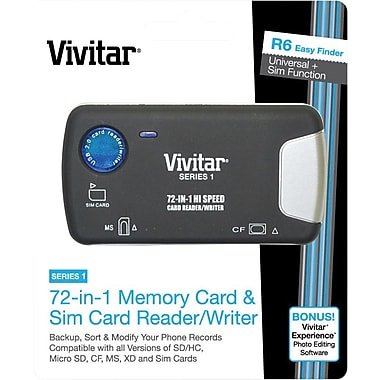 Vivitar 72-in-1 Card Reader/Writer