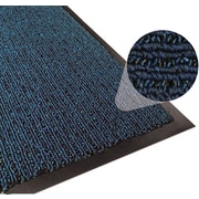 Apache Mills Step 2 Foyer Mat, Brush & Clean, Navy, 4' x 6'