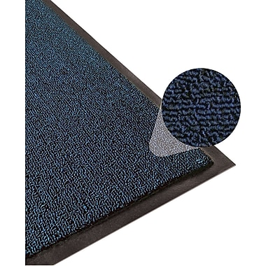 Apache Mills Step 3 Indoor Mat, Clean Loop, Navy, 4' x 6'