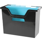 Staples® Large Black Open Top File Box