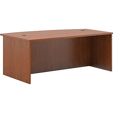 basyx by HON BL Series Office or Computer Desk Shell, 72in.W, Medium Cherry