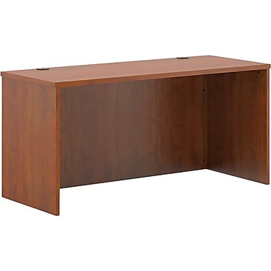 basyx by HON BL Series Credenza for Office Desk or Computer Desk Shell, Medium Cherry