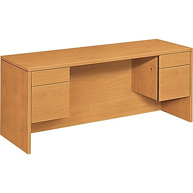 HON 10500 Series Kneespace Credenza for Office Desk or Computer Desk, 72in.W