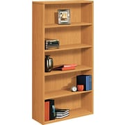 HON 10500 Series 5-Shelf Bookcase, Harvest