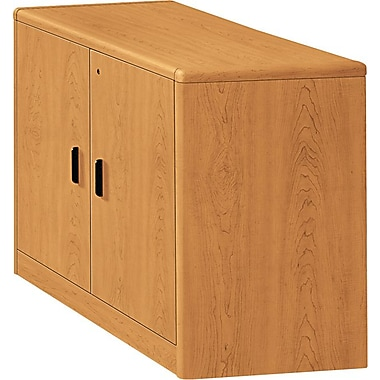 HON 10700 Series Storage Cabinet with Adjustable Shelf, Harvest
