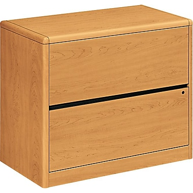 HON 10700 Series 2-Drawer Lateral File, Harvest