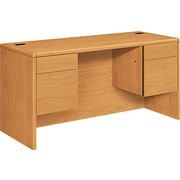 HON® 10700 Series 60 Credenza with Kneespace, Harvest