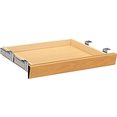 HON Center Drawer for Single Pedestal Desk, Harvest