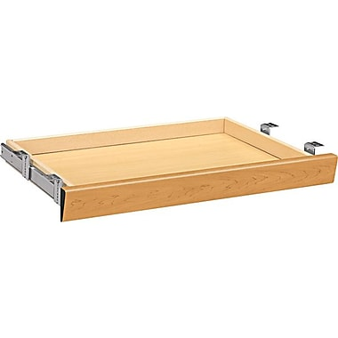 HON® Center Drawer for Double Pedestal Desk, Harvest