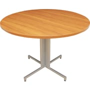 Regency® OneDesk Collection 42 Round Table, Amber/White Finish