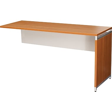 Regency® OneDesk Collection 65in. Return, Amber/White Finish