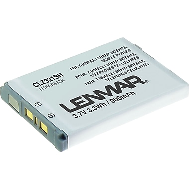 Lenmar Battery for Sharp T-Mobile Sidekick LX 2008 Cellular Phones