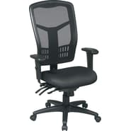 Office Star™ Ergonomic Pro Grid High-Back Task Chairs, Black