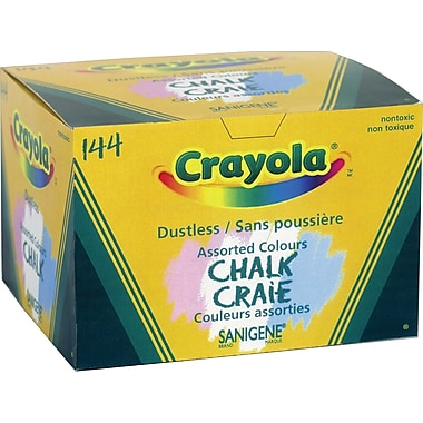 Crayola® Coloured Dustless Chalk