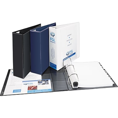 Avery® Heavy-Duty One-Touch D-Ring View Binders, 3